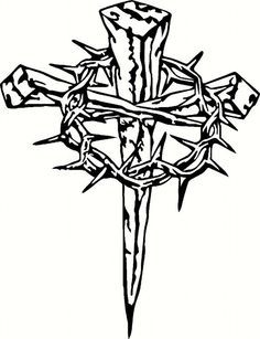 236x307 Easter Cross Clipart Black And White Easter Day