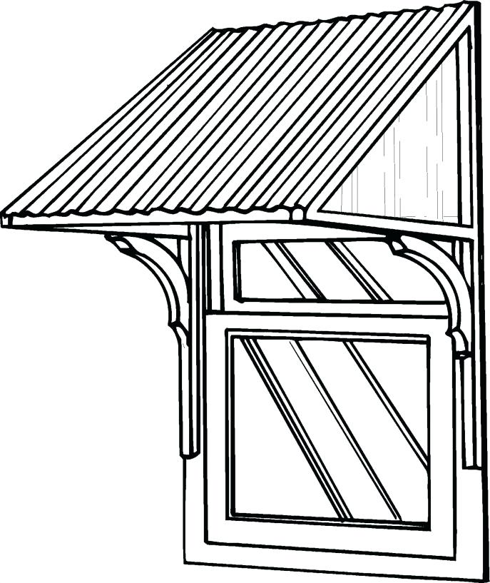 687x817 Door Awning Kit Medium Size Of Project Front Cedar Roof Overhang