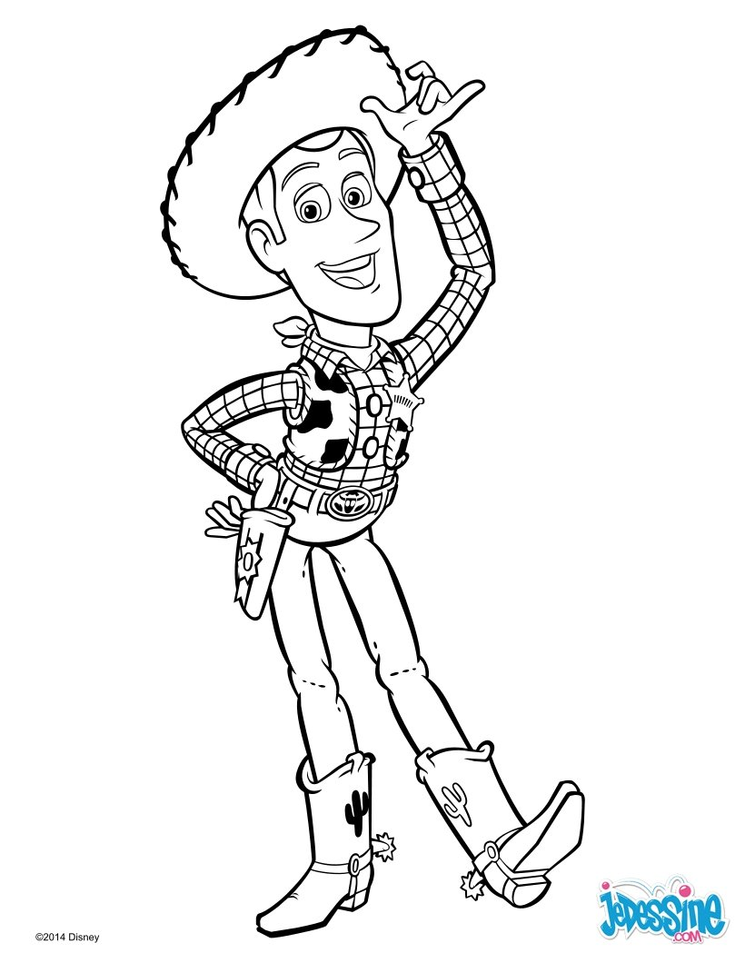 Woody Toy Story Drawing