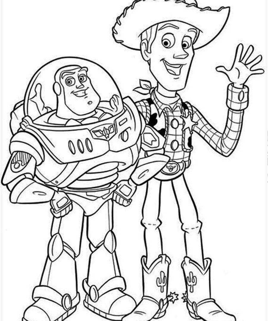 Woody Toy Story Drawing at GetDrawings | Free download