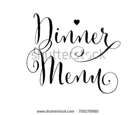 450x380 Wedding Word Art Design Vector Dinner Stock Vector 722455594