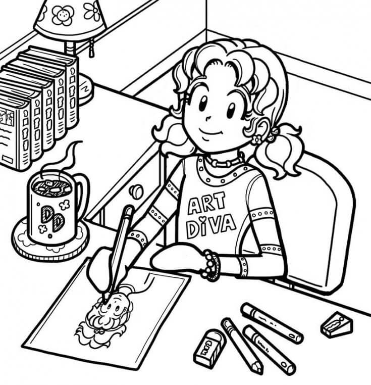 735x762 What Are Your Top Drawing Tips Dork Diaries
