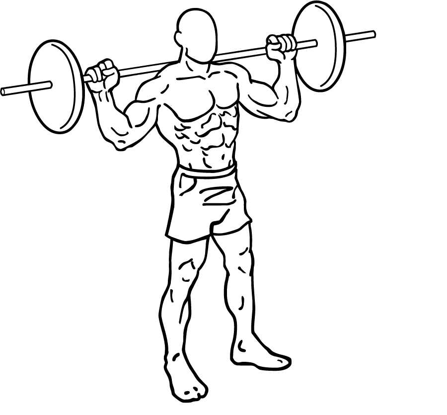 900x835 Barbell Lunges