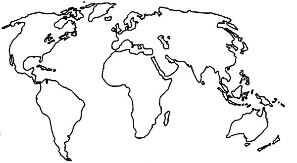 600x330 Map Coloring Book Plus Coloring Map Of The World Map Of The Map