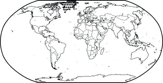 618x315 World Map Coloring Pages Printable World Map Coloring Page Free