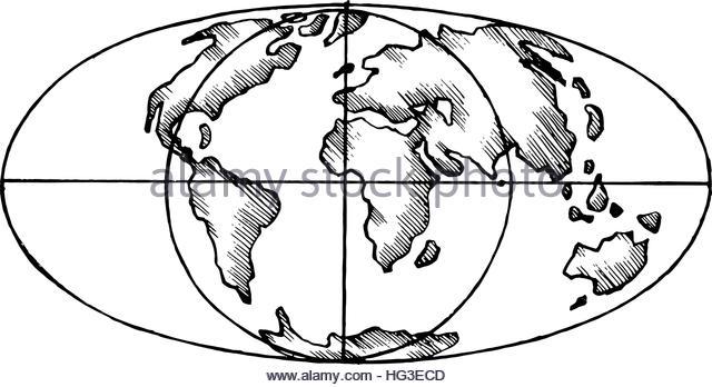 640x348 World Globe Europe Black And White Stock Photos Amp Images