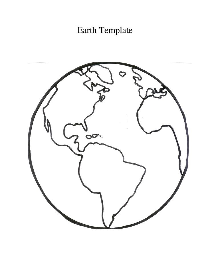 graphic relating to Printable World Globe known as Worldwide Environment Drawing at  Free of charge for specific