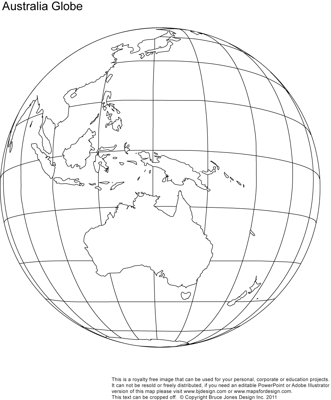 World globe drawing at getdrawings free for personal use world 1113x1346 download australia globe map major tourist attractions maps gumiabroncs Images
