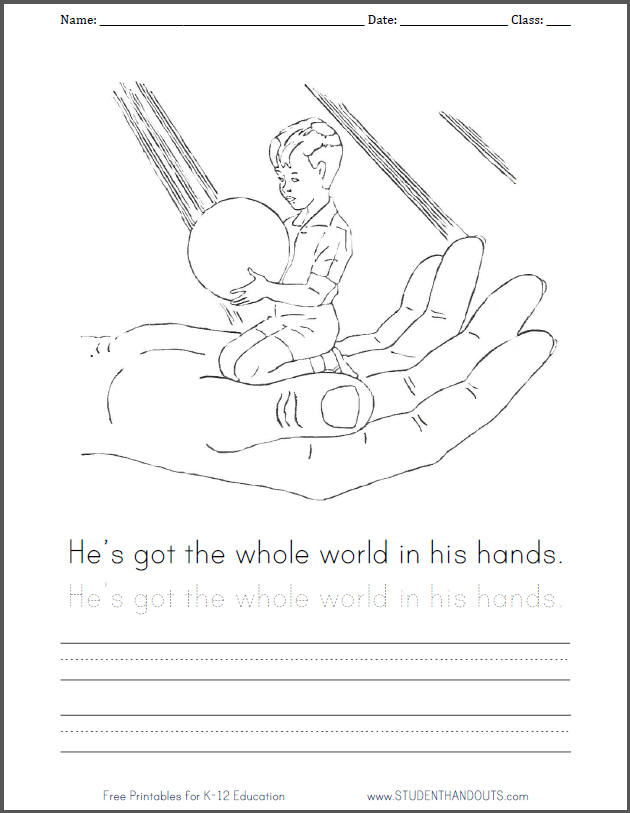 630x813 Whole World In His Hands Clipart