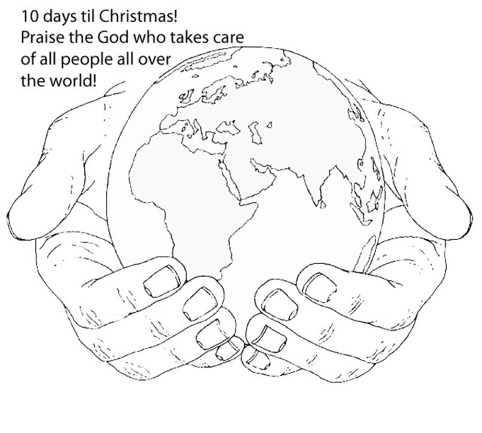 681x612 World In His Hands Clipart
