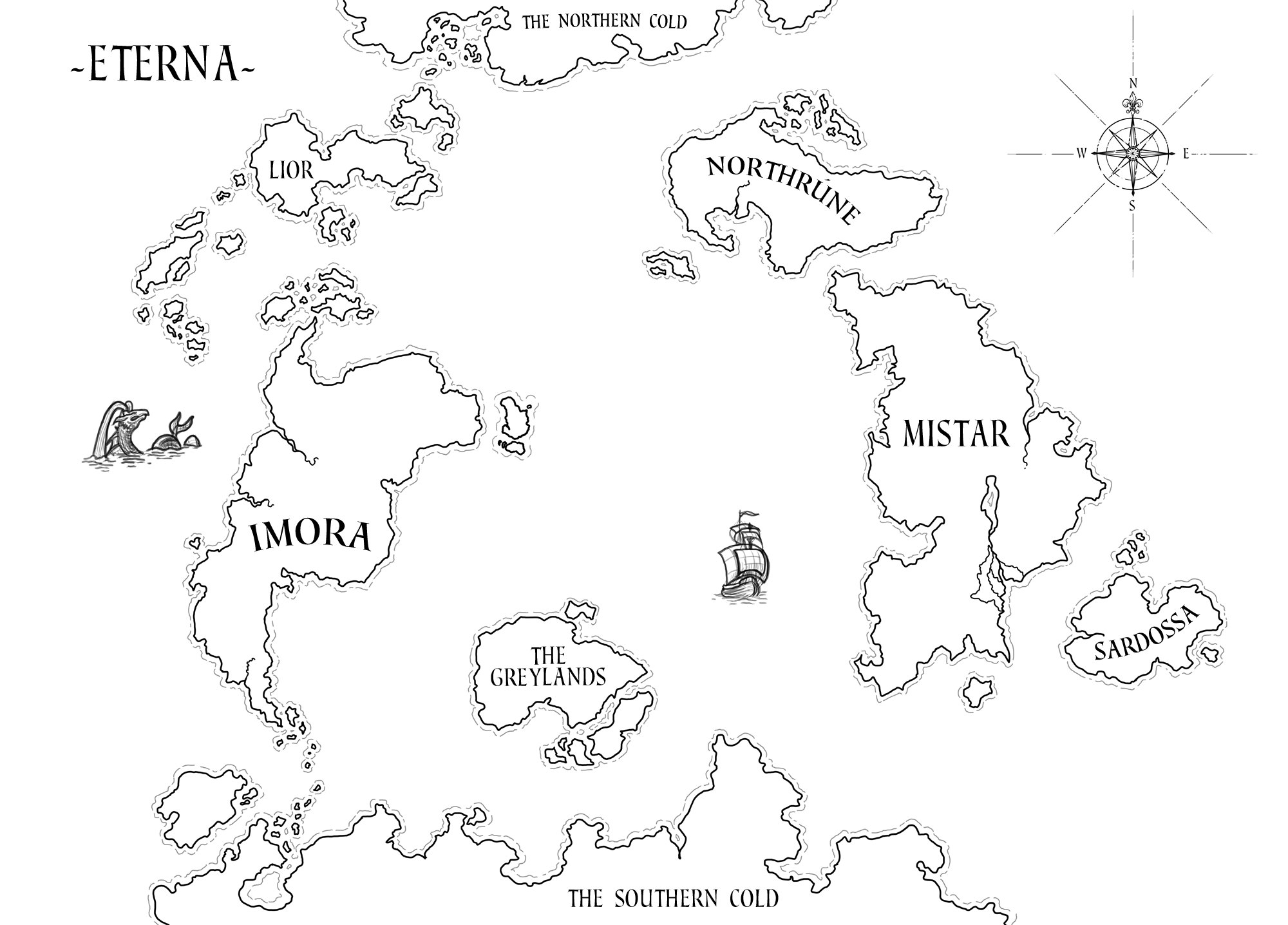 2000x1436 Lion Head World Map Levi's Blog