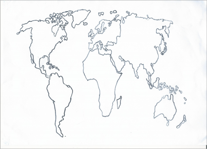 662x478 World Map By Sam (Picture