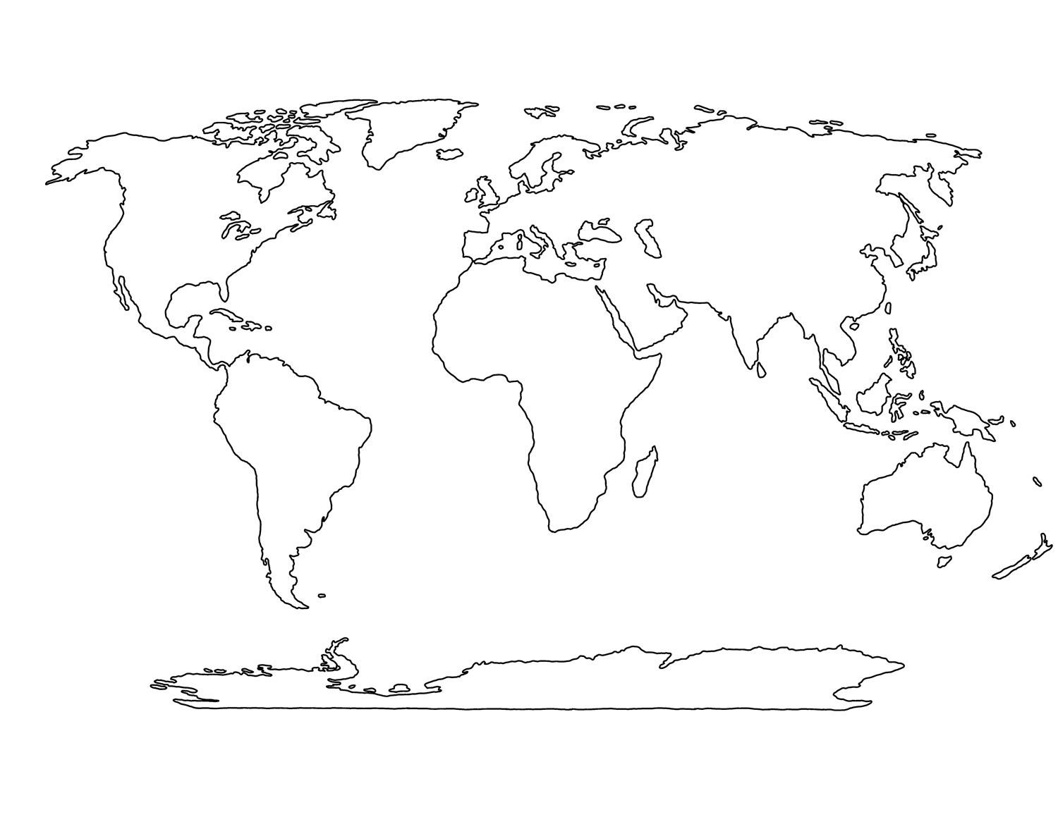 World map drawing tumblr at getdrawings free for personal use 1500x1159 blank world mapg gumiabroncs Image collections