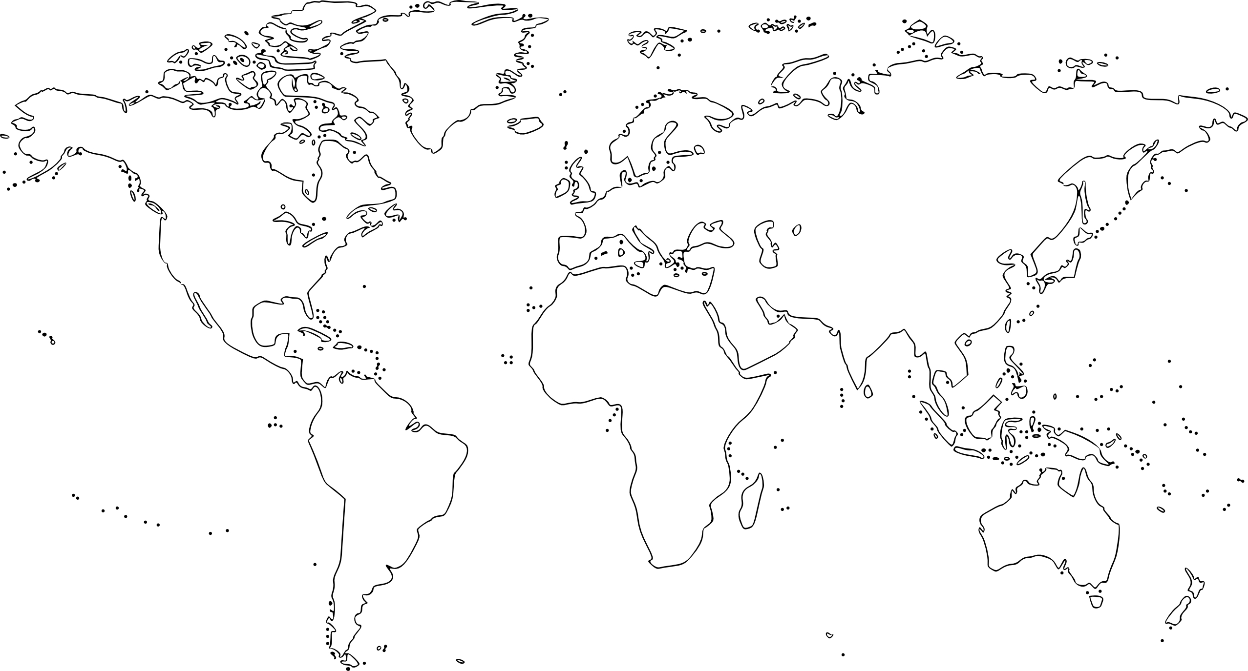 World map drawing tumblr at getdrawings free for personal use 2555x1375 best photos of black world map traceables gumiabroncs Images