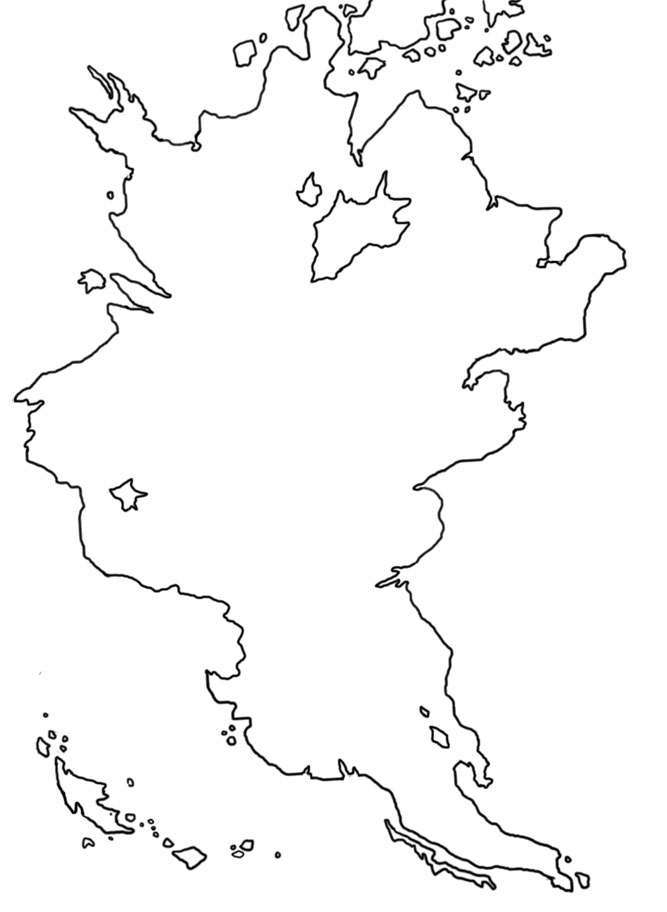 World Map For Drawing At Getdrawings Com Free For Personal Use