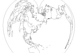 World map line drawing at getdrawings free for personal use 250x170 30 high quality free world map templates gumiabroncs Image collections