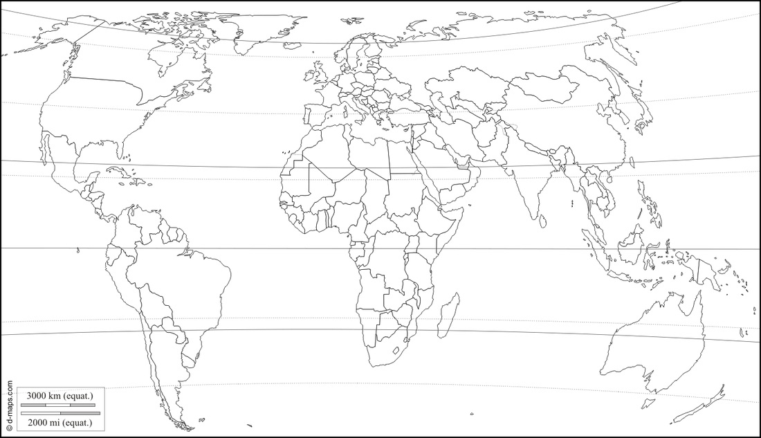 Line Art Map : World map line drawing at getdrawings free for