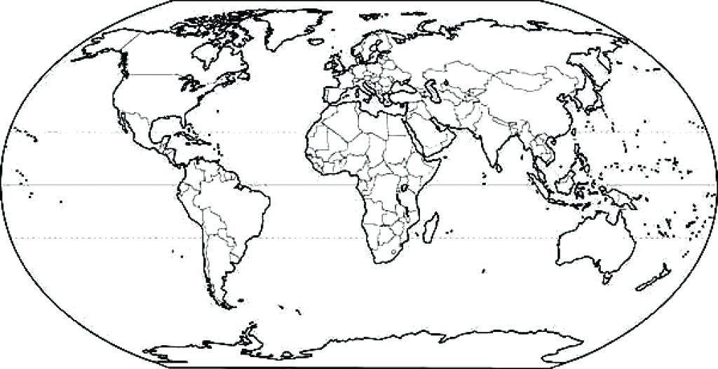 World map line drawing at getdrawings free for personal use 1024x527 coloring pages of the world this coloring pages world war 1 gumiabroncs Gallery