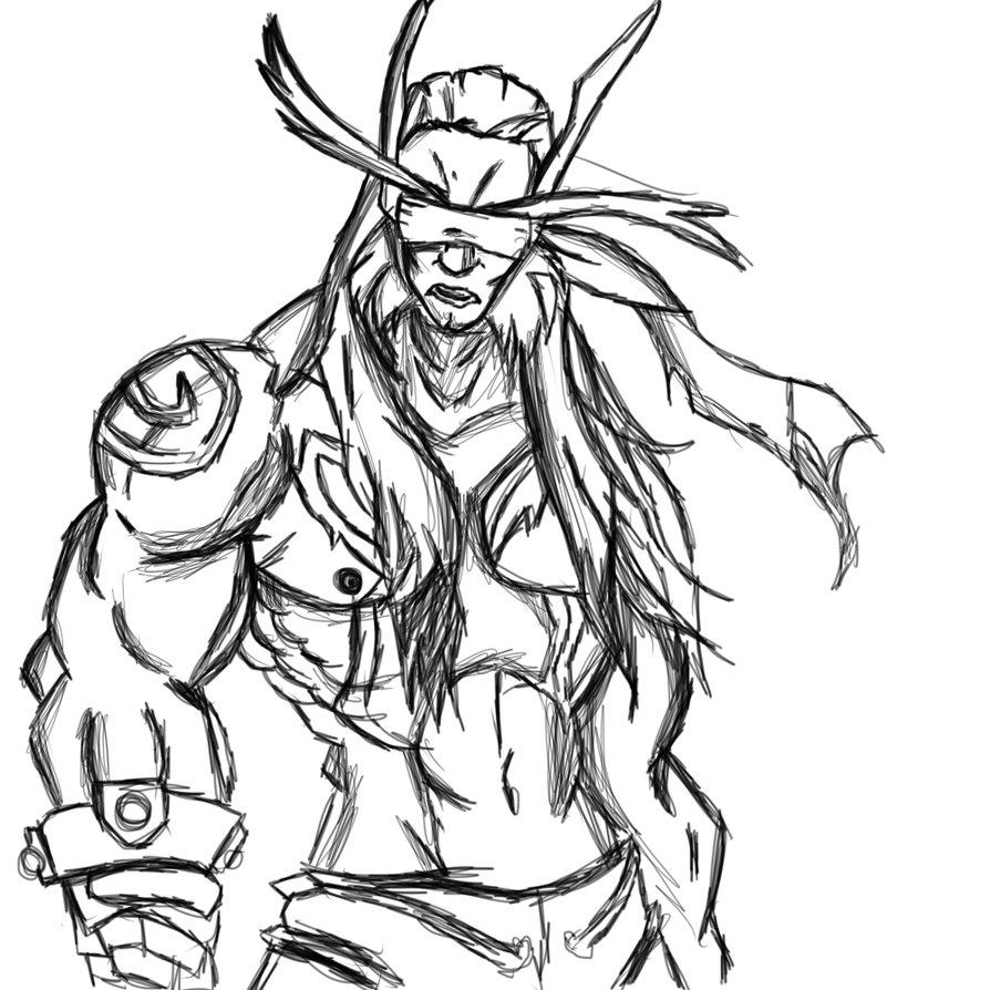 World Of Warcraft Drawing