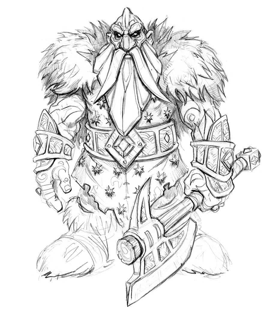 World Of Warcraft Drawing At Getdrawings Com Free For