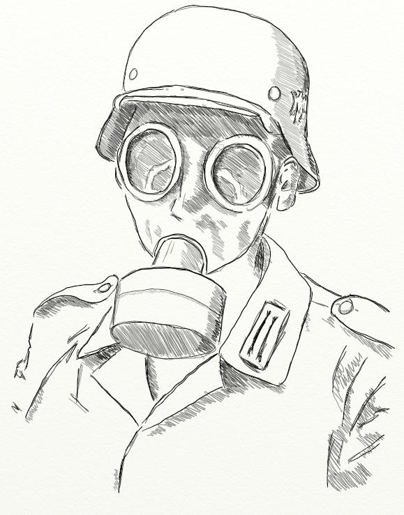 579x739 Gas Mask By Goodoldretro