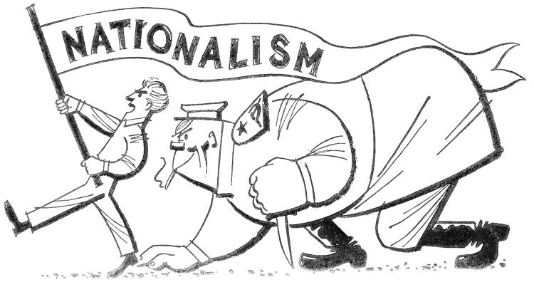 750x396 This Picture Is Representing Nationalism During Ww1. Nationalism