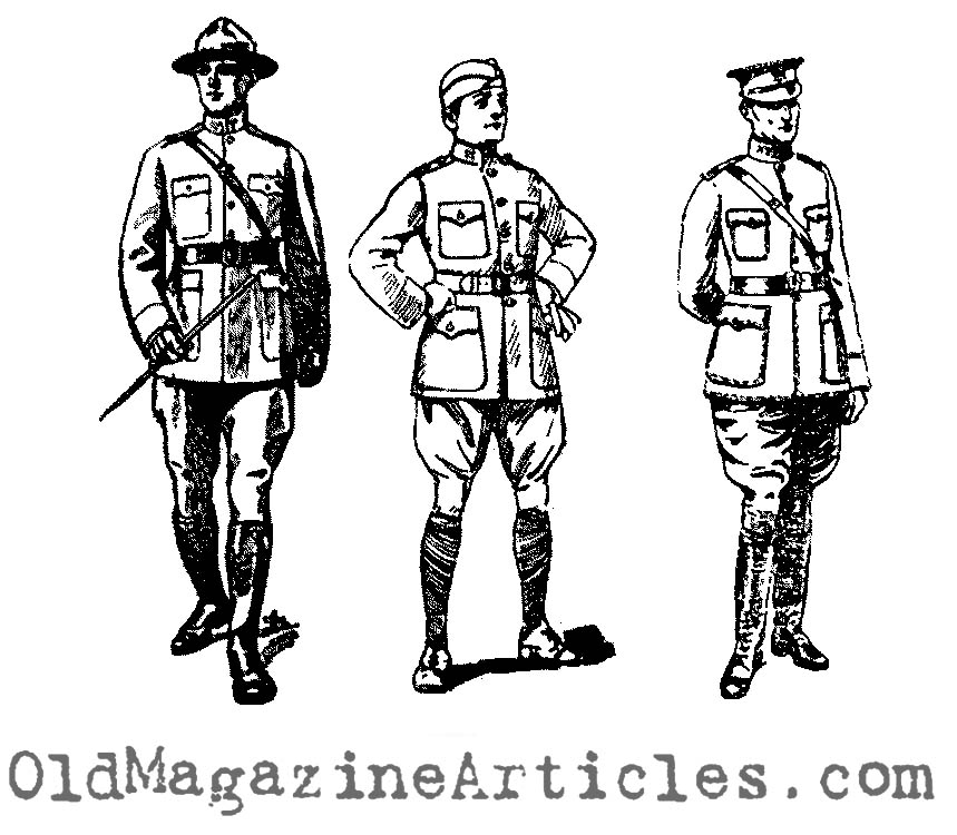 859x750 Wwi Doughboy Officer Drawings,ww1 Clip Art,ww1 American War
