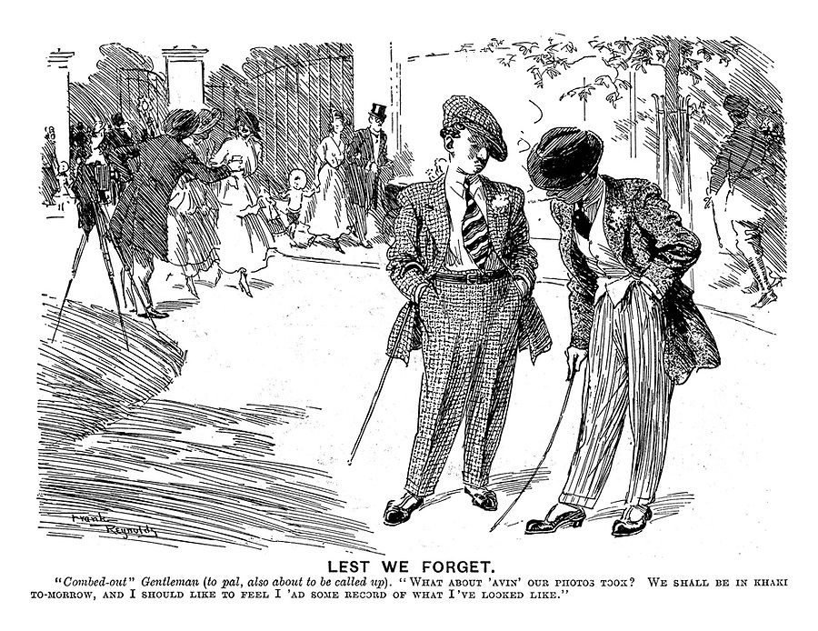 900x694 World War 1 Conscription Cartoons From Punch Magazine By Frank