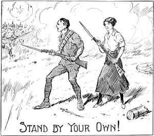 300x266 Anzac Day Conscription