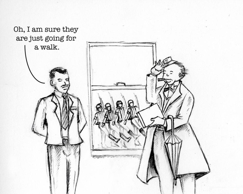 999x799 World War 2 Political Cartoon By Callmealpha