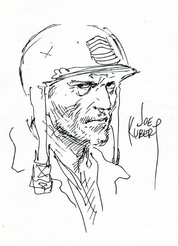 578x800 World War 2 Art Joe Kubert Never Dies