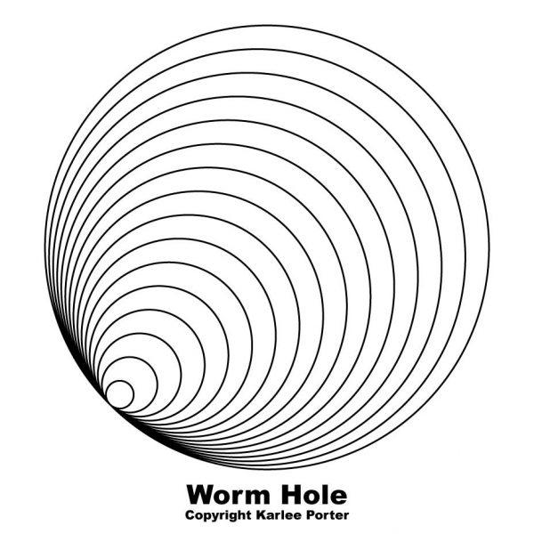 600x600 Worm Hole Karlee Porter