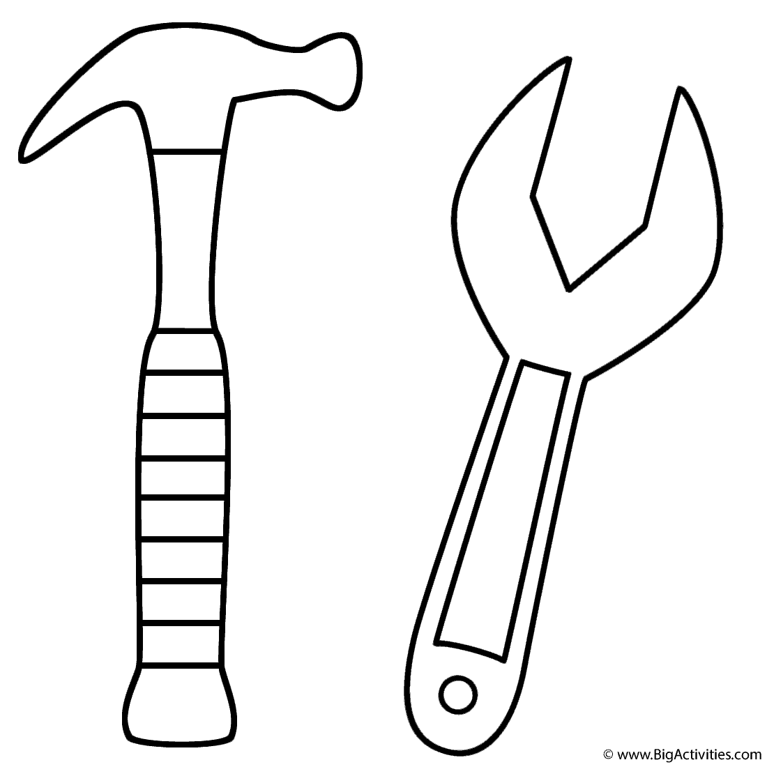 1100x1100 Hammer And Wrench