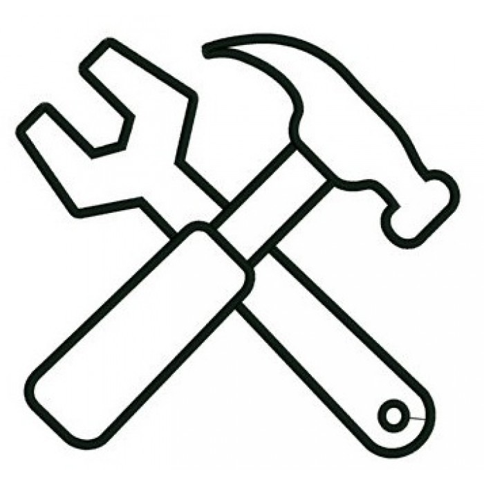 700x700 And A Wrench Applique Mechanic Handyman Machine Embroidery