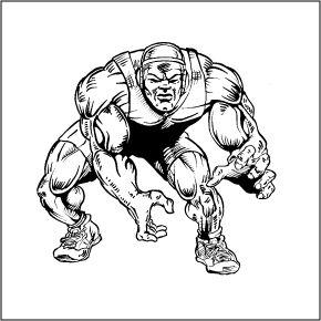290x290 Drawings Of Wrestlers Wrestling Clip Art Wrestling Clipart Pep