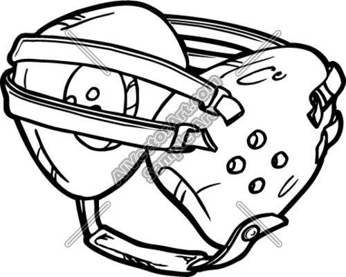 Wrestling Headgear Drawing