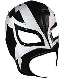 260x320 Rayman Adult Lucha Libre Wrestling Mask (Pro Fit