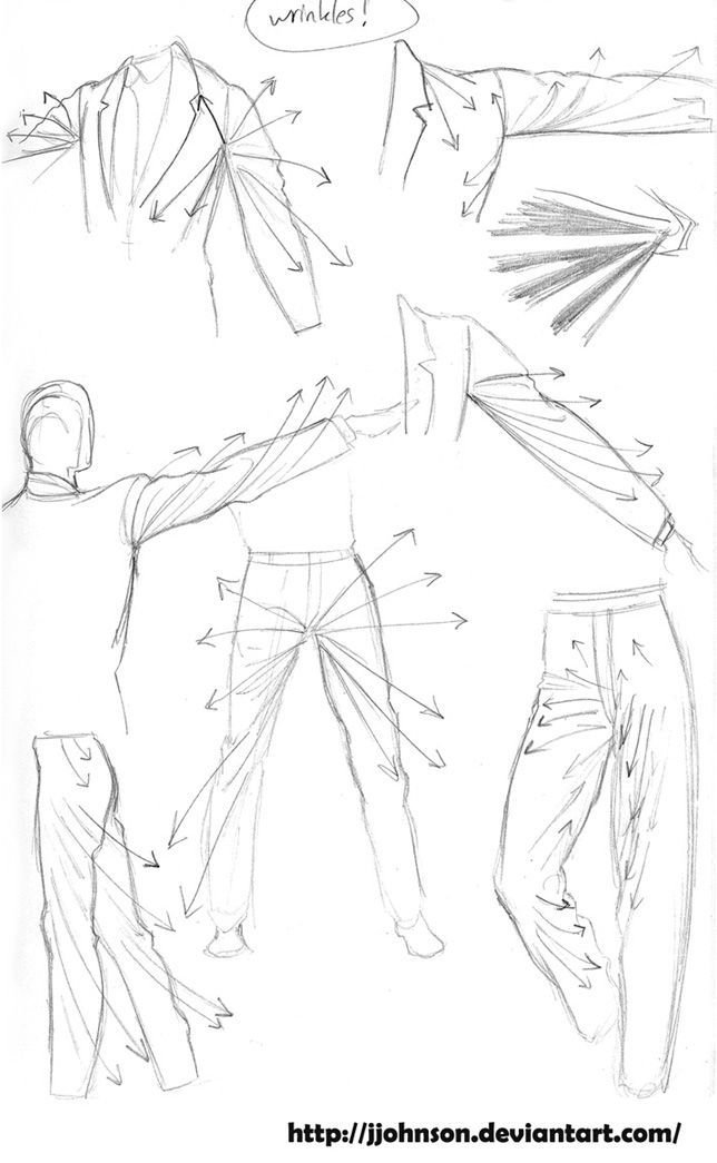 644x1045 Today's Drawing Lessons How To Draw Cloth And Folds Wrinkles