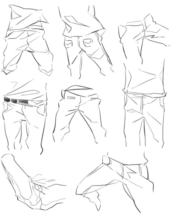 568x720 Clothes Wrinkles Draw Clothes, Drawings And Tutorials