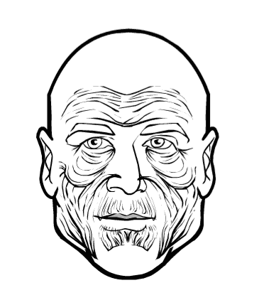 358x429 Hm3 Facial Wrinkles Heromachine Character Portrait Creator