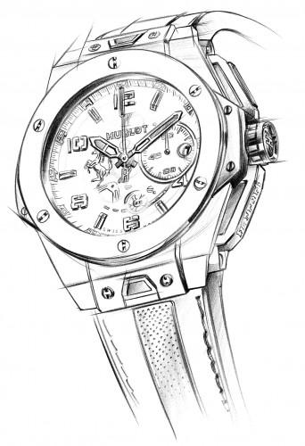 342x500 Hublot Big Bang Ferrari Titanium Ref 401.nx.0123.gr401.nx.0123.gr