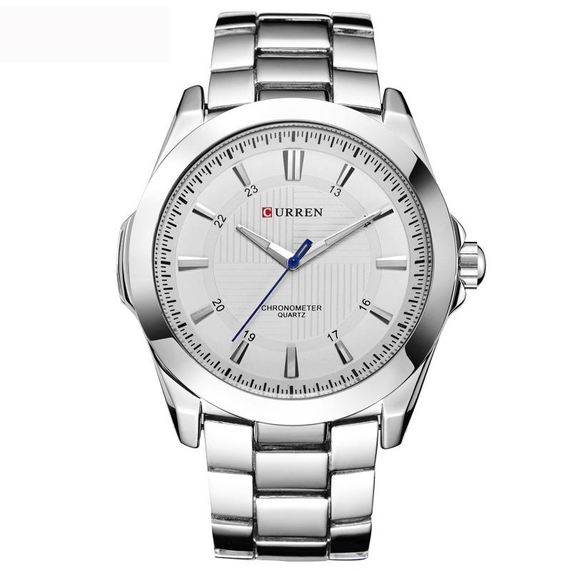800x800 New Design Stainless Steel Curren Watches Men Business Quartz