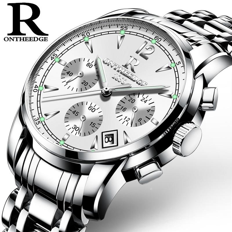 800x800 Ontheedge Mens Watches Luxury Brand Fashion Business Quartz Watch