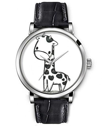 404x500 Sprawl Aanalog Casual Wrist Watch For Women Cartoon Sketch