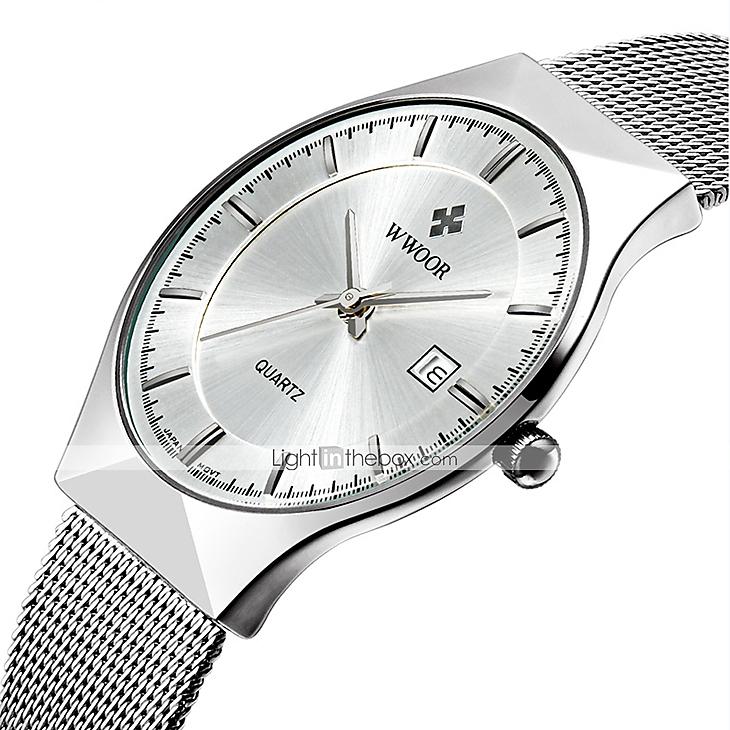 730x730 Wwoor Men's Couple's Wrist Watch Dress Watch Fashion Watch Quartz