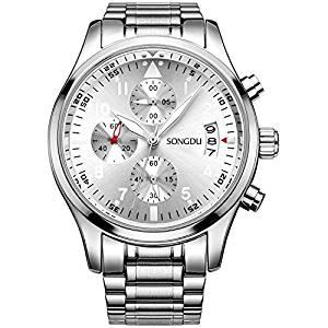300x300 Songdu Mens Luminous Business Casual Quartz Wrist