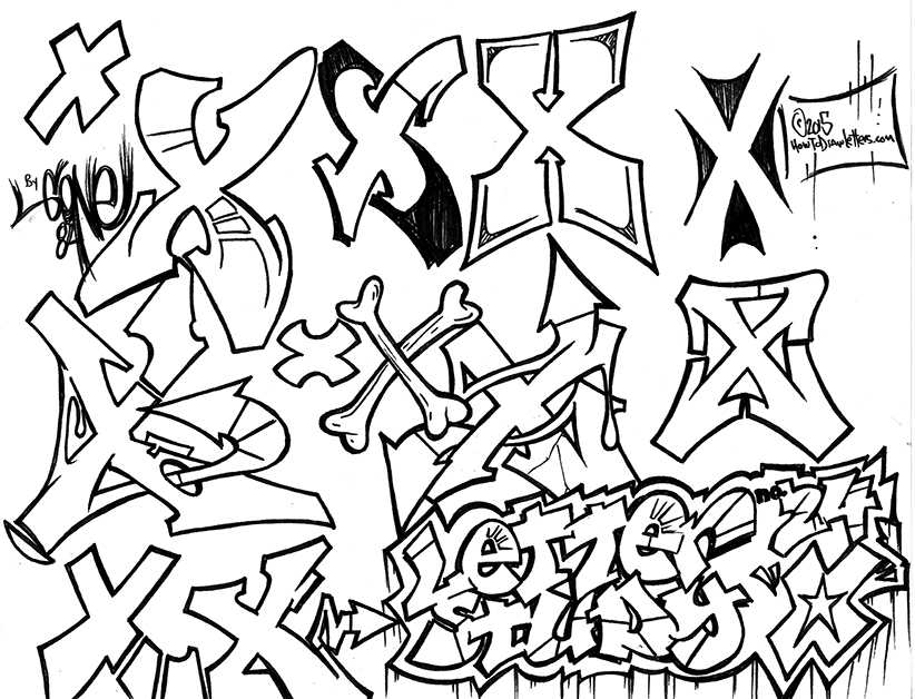 822x628 How To Draw Letters