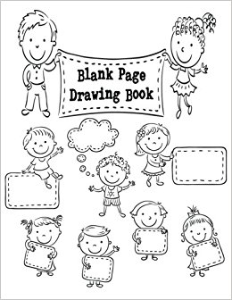 260x336 Blank Page Drawing Book 8.5 X 11, 120 Unlined Blank Pages