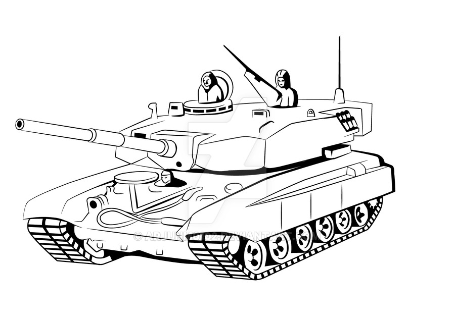 900x636 Army Tank Drawing Army Tank Drawing Step By Step