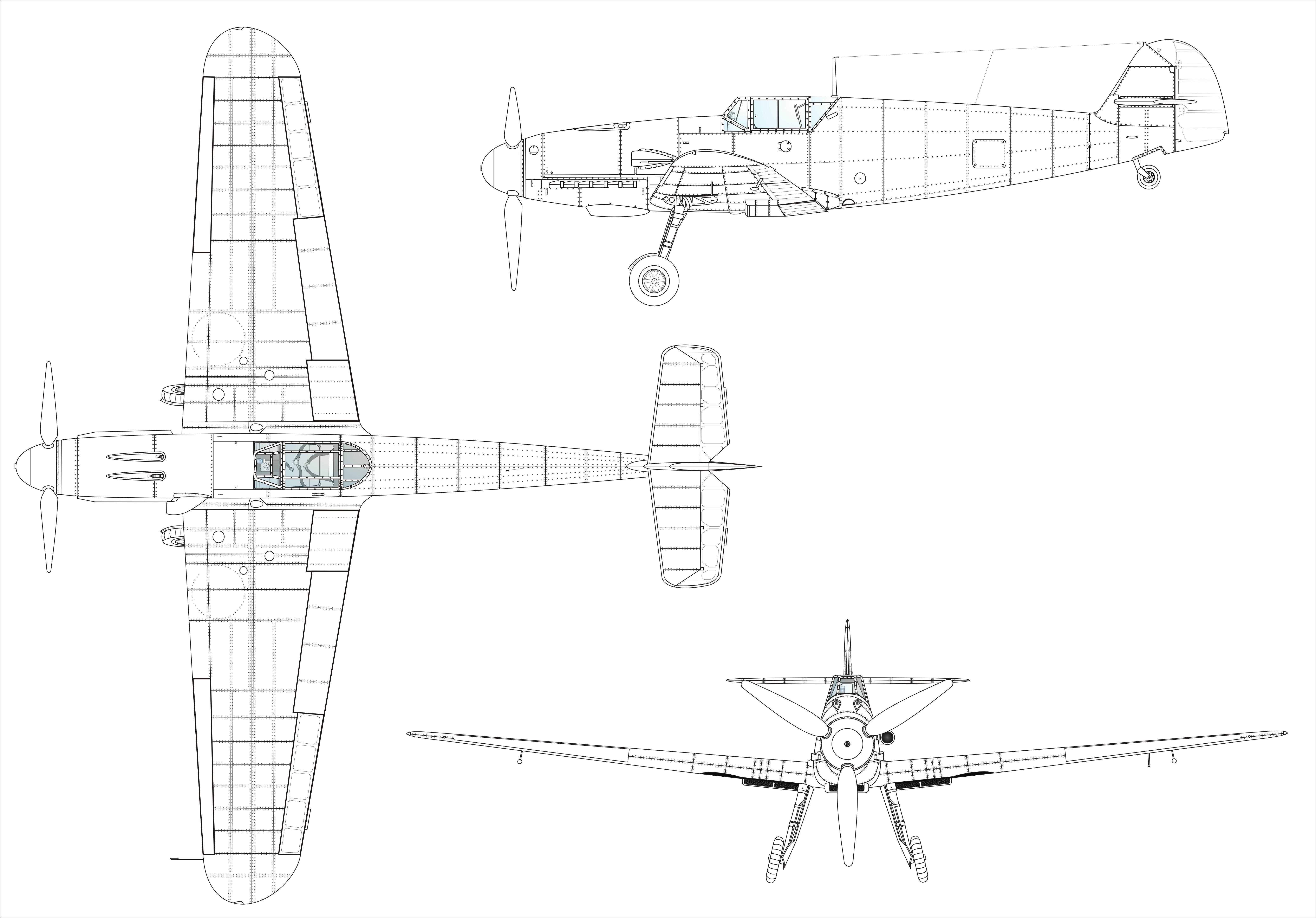 6378x4448 The Megalomaniac Bore Aircraft History